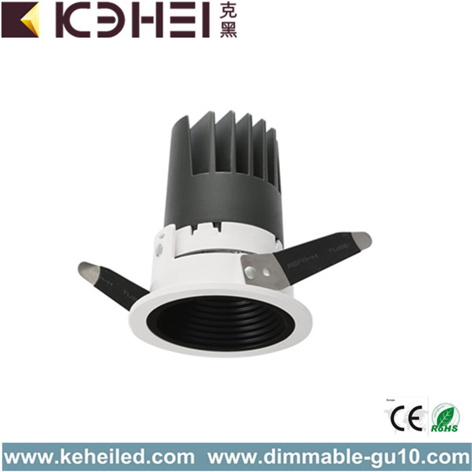 12W 75mm قص خارج LED Wall Washer Spotlight