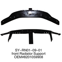 front radiator support for RENAULT/DACIA LOGAN 2004-2012