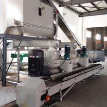 Biomass palm kernel shell pellet machine line