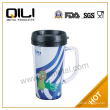 Fancy travel mug with handle