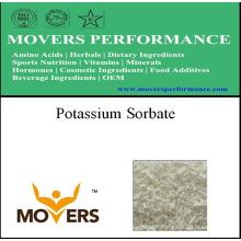 Ingrédient cosmétique chaud de ventes: Sorbate de potassium