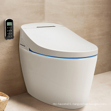 Automatic Smart One Piece Wash Bidet Water Tankless Intelligent Sanitary Ware Auto Close Wc Heated Electric Toilet