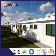 (WAS1011-24D) Bâtiments préfabriqués en acier chinois / préfabriqués utilisés comme maisons privées