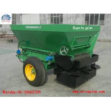 Épandeur à deux roues monté par tracteur d'équipement d'agriculture pour le marché de la Nouvelle-Zélande