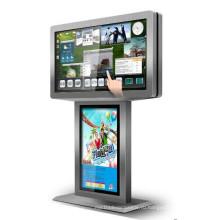 46/двойной стороны диагональю 55 дюймов рекламируя Дисплей LCD