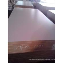 Tablero / Panel de MDF con revestimiento de melamina blanco