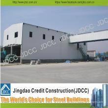 Leichtes Stahlgebäude für Werkstatt, Waffenhaus, Kleiderbügel, Fasanerie