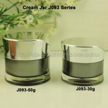 30ml 50ml boião de creme acrílico embalagens de cosméticos Jar