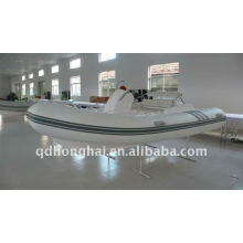 rib420B ce fiberglass rigid boat with motor 30hp