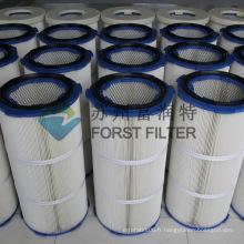 FORST Industrial Polyester Fiber Paper Filtre à air Filtre à poussière de papier Cartridge
