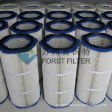 FORST Industrial Polyester Fiber Paper Air Filter Media Dust Filter Cartridge