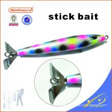 STB001 15см рыболовные снасти искусственные приманки деревянные рыболовные приманки палку приманки