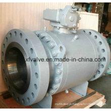 API602 Válvula de esfera RF de grande diâmetro de aço forjado