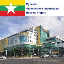 Projet de l'hôpital international Grand Hantha