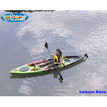Single Sit on Top Plastic Fishing Kayak