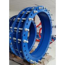 Large diameter cast iron dismanling joint