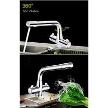 Grifo de latón de cocina grifo de agua y grifos de cocina