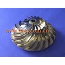 S300 Turbo Billet Compressor Roue 316538 Impeller Blade 174424 Fit Turbo / Chra 318974/316536/316524/316582/316637 Mercedes Singpore
