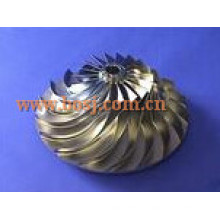 S300 Turbo Billet Compressor Wheel 316538 Impeller Blade 174424 Fit Turbo/ Chra 318974/ 316536/ 316524/ 316582/ 316637 Mercedes Singpore