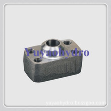 Butt Weld Pipe Flange Connector for Construction Machinery