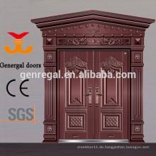 Aluminiumguss-Eingangstüren im chinesischen Stil