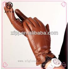 Forme a invierno caliente los guantes femeninos de la marca de fábrica del invierno