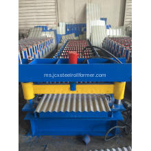 Galvanized Steel Corrugated Sheet Roll Forming Machine