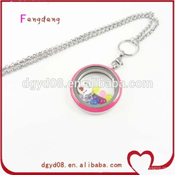 Stainless steel twist screw top lockets wholesale