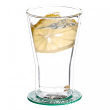Double Layered Borosilicate Glasses And Cups For Water