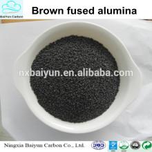 Corindon brun / alumine fondue pour le polissage et l'abrasion