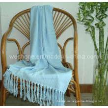 Wurf von Bambus, Bambus Decke, Bambusfaser werfen Bb-09121