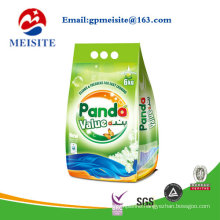 Washing Powder Packaging Die Cut Handle Bag