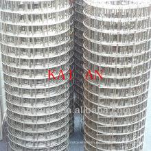 Hebei anping kaian 1/4 pulgada gi malla de alambre soldada