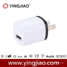 5V 1.2A 6W DC White USB Charger with CE