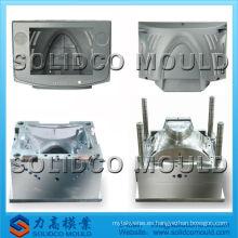 molde de inyección de plástico para LED frontal de TV, molde de marco de televisión