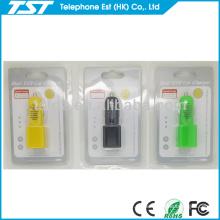 Würfel und Zylinderform USB-Auto-Aufladeeinheit Dual für SAMSUNG