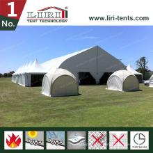 Tente de tennis de plein air en forme de courbe en grande, Tente d'événement TFS à vendre