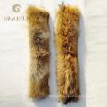 Нестандартный Размер женщины&мужчины меховой отделкой шарф/куртка