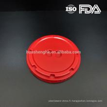 Couvercle de bol à charcuterie en plastique de haute qualité de 120 mm