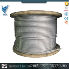 ASTM A312 AISI310 plastic coated stainless steel wire rope
