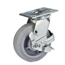 125mm Heavy Duty Swivel Performa Wheel Caster with Side Brake