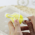 Hot selling milk bottler gift 360 degrees full cleaning sponge nipple brush