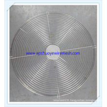 Electrical Fan Cover Stainless Steel Spiral Wire Round Fan Guard