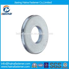 En Stock Fournisseur chinois Meilleur prix DIN 125 Acier au carbone / Acier inoxydable Zinc Plated Washer ordinaire