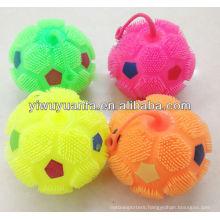 Footable Flashing Yoyo Glow Puffer Ball Toy