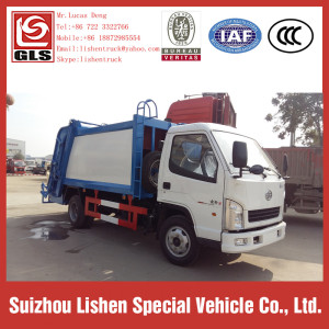 FAW Garbage Compactor Truck