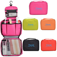 Fashion 300d Polyester Promotional Cosmetic Toiletry Wash Travel Bag (YKY7530)