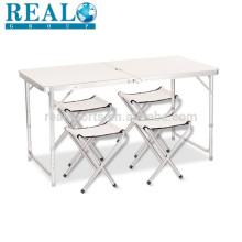 Faltende Picknicktisch-Tabelle im Freien tragbare Tabelle 6ft für Partei