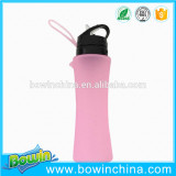2016 new products silicone protable water bottle as seen on tv