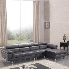 Opción Cuero Chaise Sofa Right Hand Facing
